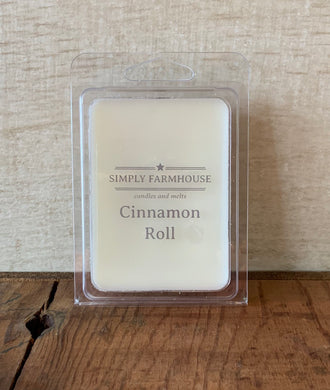 Soy Wax Melt- Cinnamon Roll