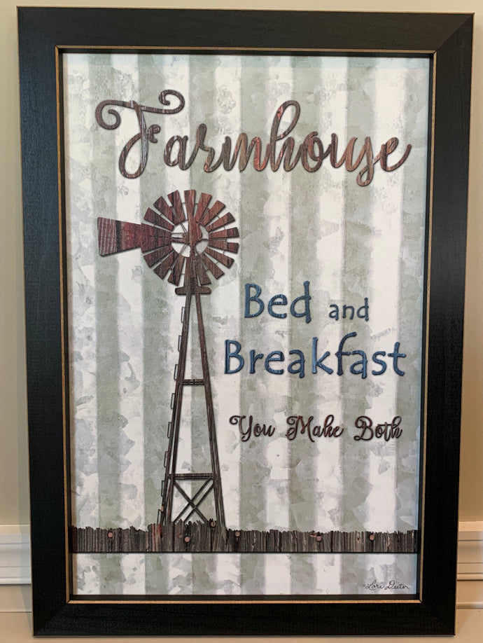 Farmhouse Hanging Sign