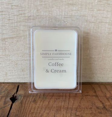 SoyWax Melt- Coffee & Cream