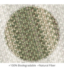 Load image into Gallery viewer, Braided Jute Rug- Rectangle 20x30- Grassland