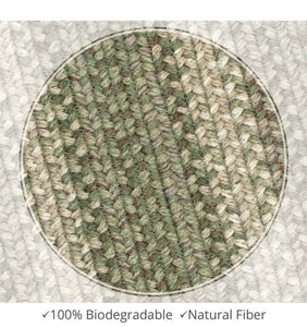 Braided Jute Rug- Rectangle 20x30- Grassland