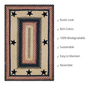"Braided Jute Rug-Rectangle- 20x30""- Gloucester"