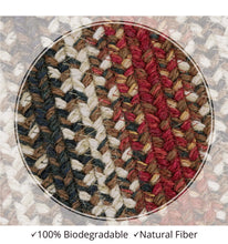 "Load image into Gallery viewer, Braided Jute Rug- Rectangle- 20x30""- Chester"