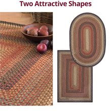 Load image into Gallery viewer, Multi Multi Wool Braided- Rectangle- 20x30- Calico Brown