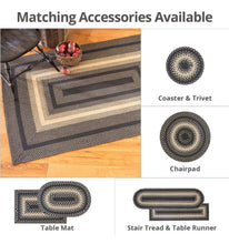 "Load image into Gallery viewer, Ultra Wool Braided- Rectangle- 20x30""- Blacksmith"