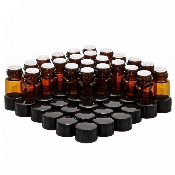 24 x 2ml Amber Glass Sample Vial