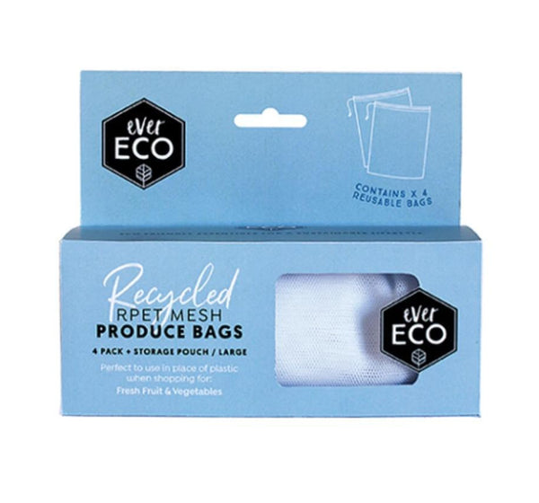 Ever Eco - XL Reusable Produce Bags with BONUS Pouch