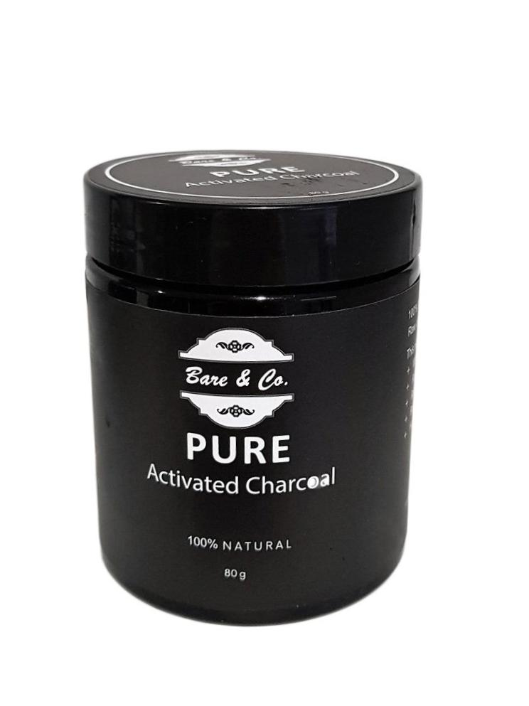 Bare & Co. - Pure Activated Charcoal Powder 80g