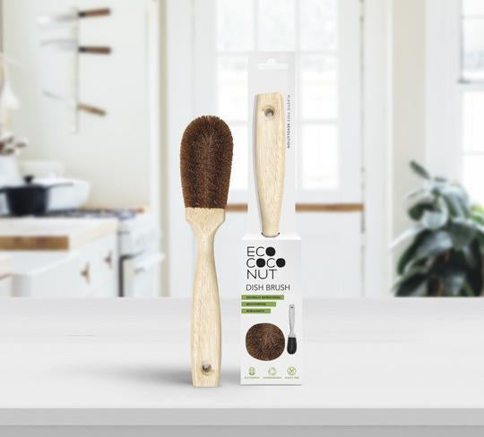 EcoCoconut - Kitchen Cleaning Brush