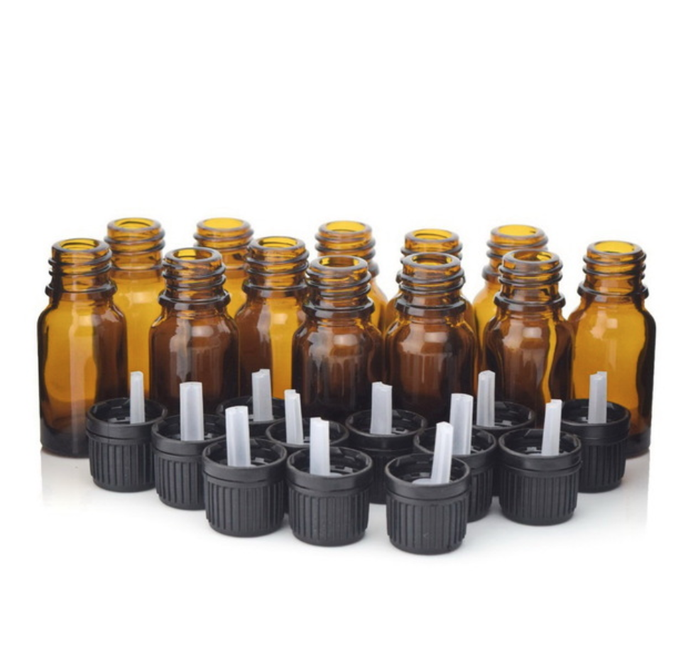 12 X 10ml Amber Dripulator Bottles