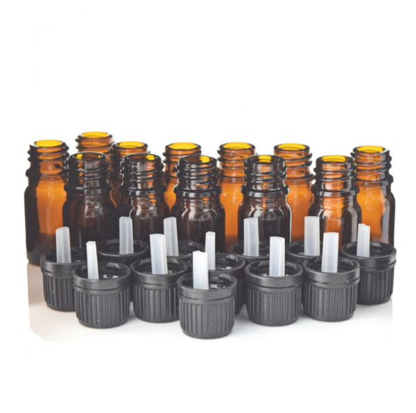 12 X 5ml Amber Dripulator Bottles