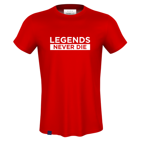 CAMISETA - ALL I NEED IS ALFALEGACY - LEGENDS NEVER DIE - AIN004