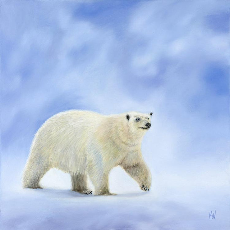 Polar Bear Painting Northbound Image