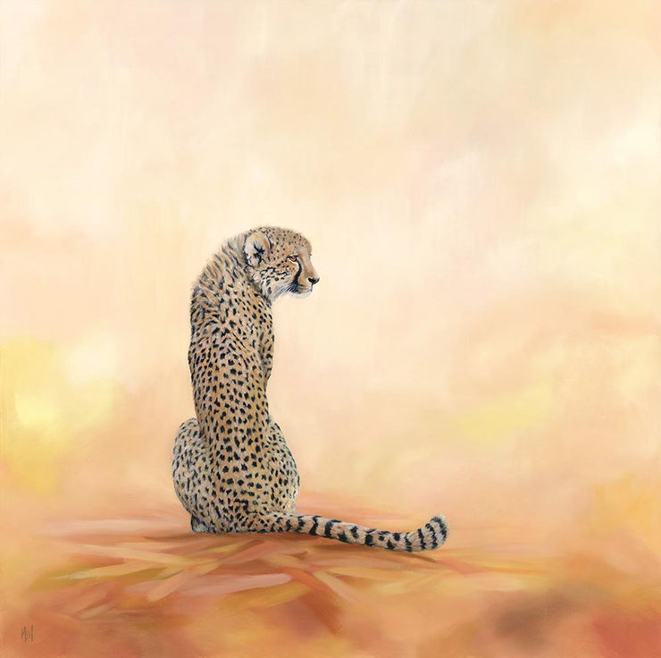 Cheetah Painting A Stolen Moment Image