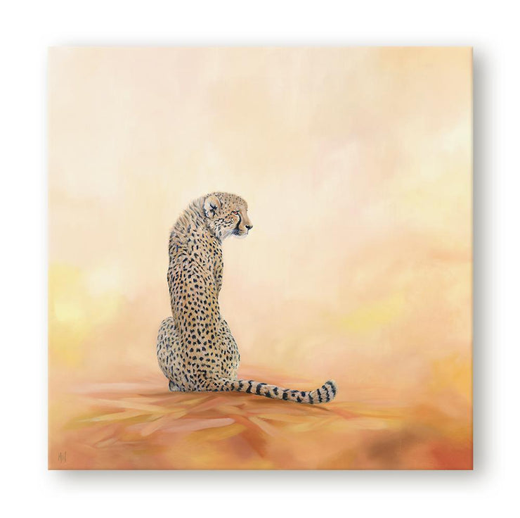 Cheetah Painting A Stolen Moment Canvas on Wall