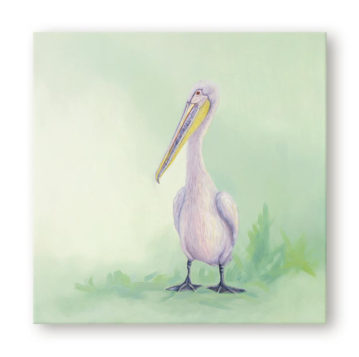 Pelican Painting Pelican Canvas on Wall