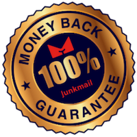 Junkmail Undies Money Back Guarantee Stamp
