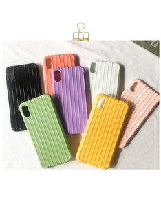 candy color shockproof bumper soft cover phone case