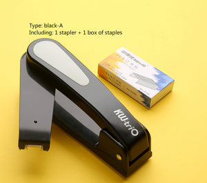 large and labor-saving multi-function 360 ° rotary middle sewing stapler