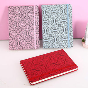 A5 PU cover business leather notebook