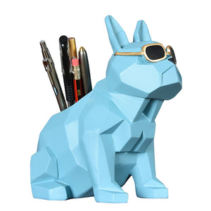 cool dog pen holder desktop decoration