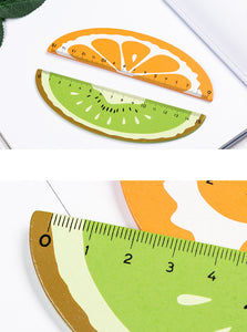 cartoon changeable fruit 15cm ruler