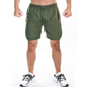 gym shorts double speed dry slow running training pants