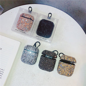 5 colors glitter sequins AirPods protector case