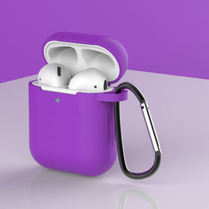 mini soft silicone shockproof cover AirPods protector case