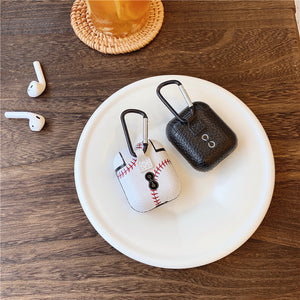 4 styles print PU hard cover AirPods protector case