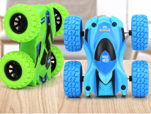 4pcs/set cool double-sided inertial car toy vehicles