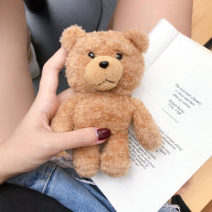 cute teddy bear shaped airpods protect case
