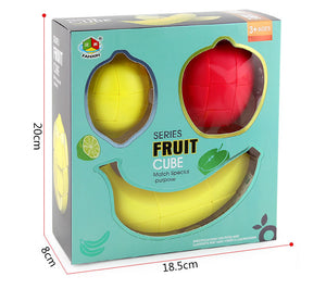 fruit series apple/banana/lemon magic cube