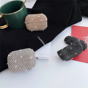 glitter blingbling crystal cover AirPods protector case