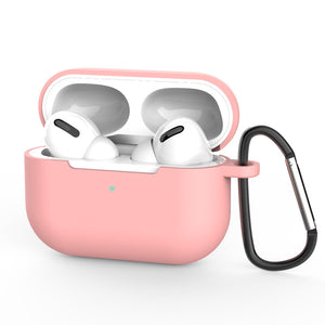 solid color silicone case protective cover for airpods pro