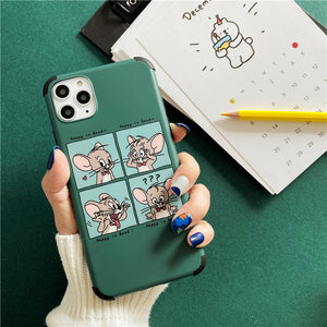 cute Jerry illustration designs soft phone case