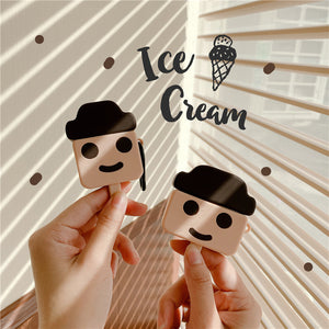 cute ice cream silicone AirPods protector case