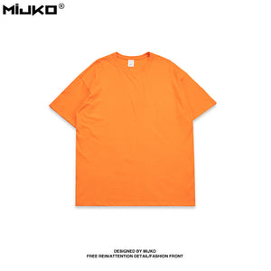 candy colored popular logo t-shirt