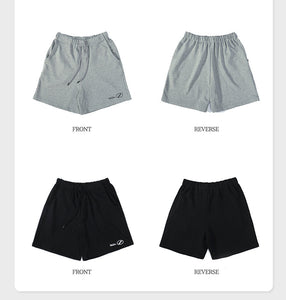 simple five-minute pants in pure color men shorts