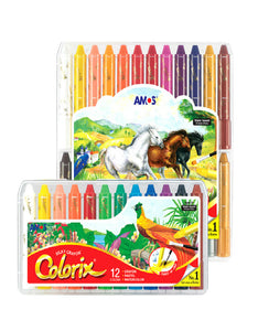 cute water soluble erasable rotary crayon set