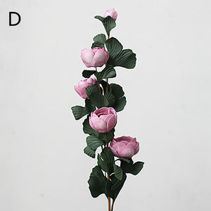 simulated France rose artificial flower desktop decoration