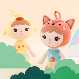 cute animal modeling transformation of angela plush stuffed toys