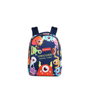 cute cartoon design kids anti-lost shoulder school bag