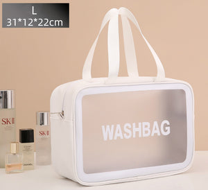 high capacity lucency waterproof cosmetic bag