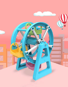 colorful ferris wheel building blocks set