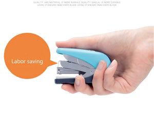 candy color mini labor-saving large capacity stapler