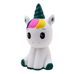 squishy colorful galaxy unicorn slow rising soft squeeze toys