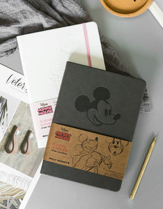 Disney Mickey Mouse students leather notebook