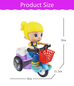baby boy/girl  riding tricycle cartoon electric musical toy