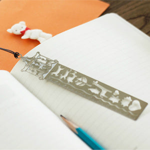 simple hollow ultra-thin metal ruler